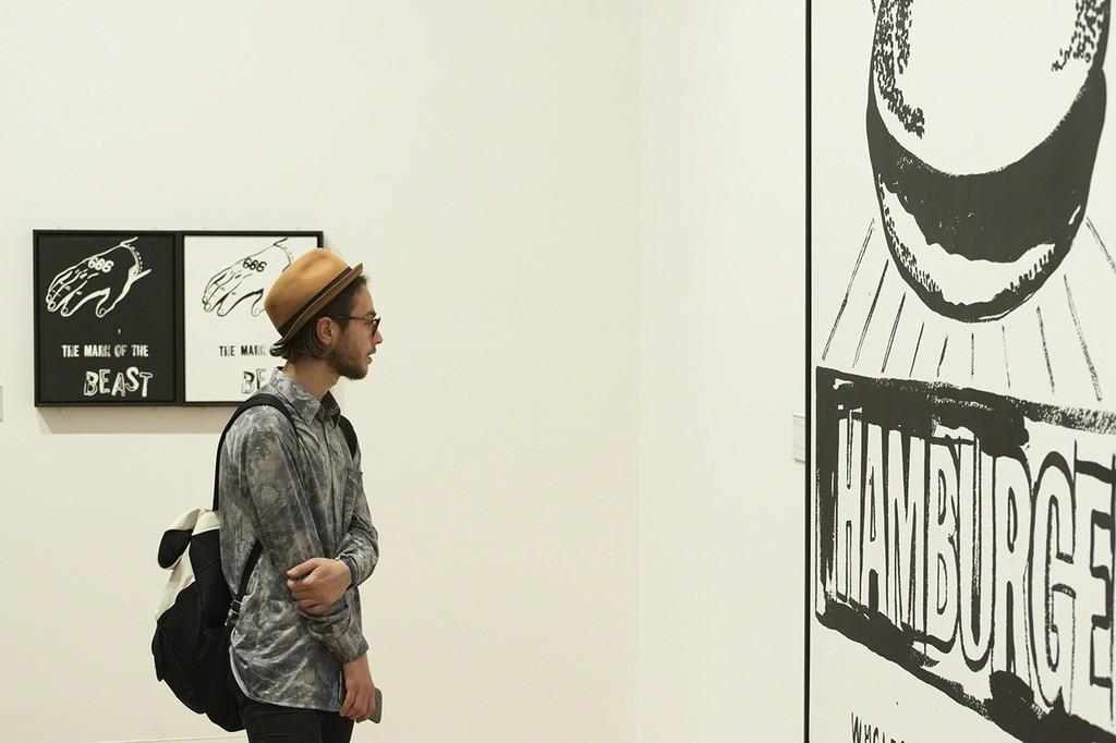 """ARTIST ROOMS Andy Warhol,"" Whitworth. Photo: Jan Janchlebik"