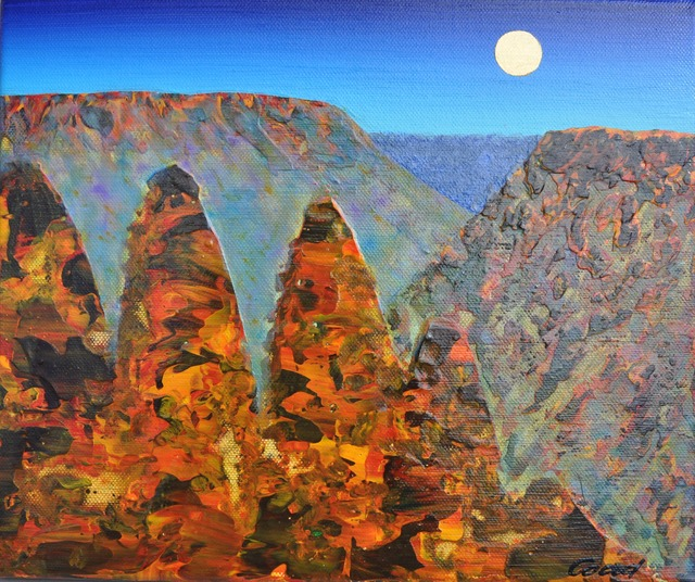 , 'Three Sisters Study - Blue Mountains,' 2013-2014, Wentworth Galleries
