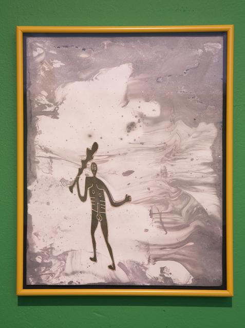 , 'Caveman With a Club Earthwork,' 2011, Nina Johnson