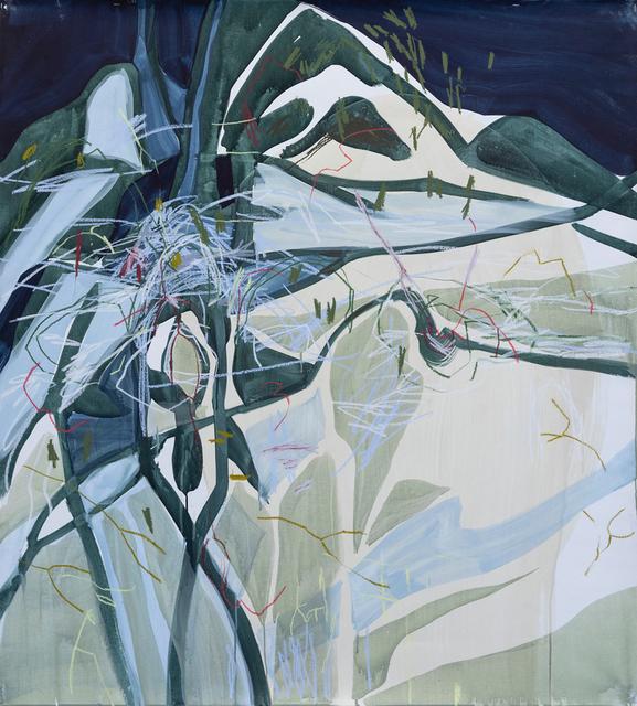 Janaina Tschäpe, 'Tracks In the Snow', 2018, galerie nichido / nca | nichido contemporary art