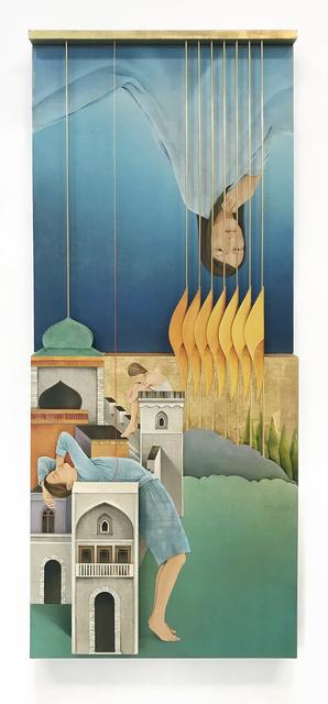 , 'The Golden Bars,' 2018, 532 Gallery Thomas Jaeckel