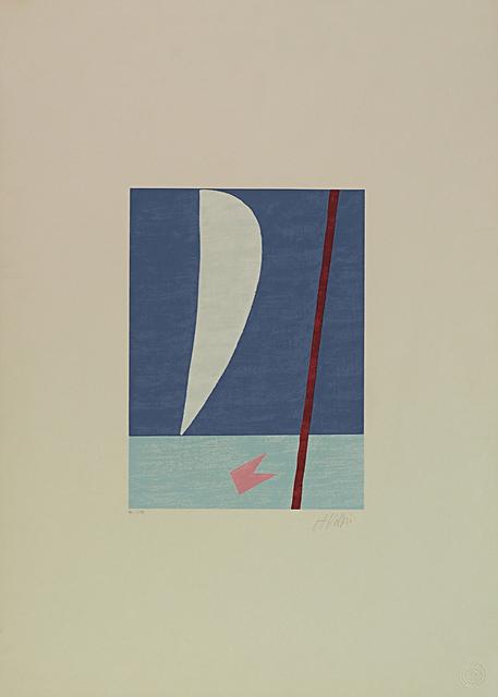Alfredo Volpi, 'Mast and sail I', 1970-1990, LAART