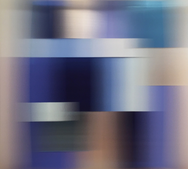 , 'Blue in blue,' 2017, Joerg Heitsch Gallery