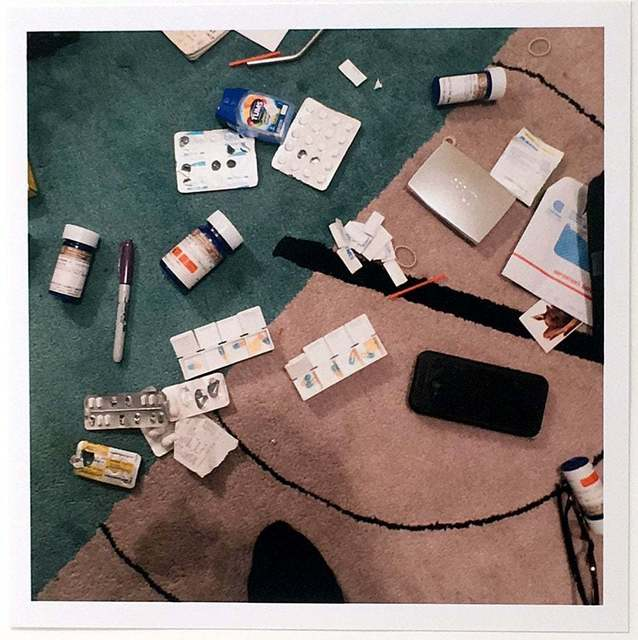 Nan Goldin, 'Drugs on the Rug, New York City, USA (2016-2018)', 2018, Lougher Contemporary Gallery Auction
