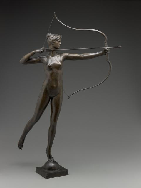 Augustus Saint-Gaudens, 'Diana', modeled about 1895-cast 1905, Sculpture, Bronze, Indianapolis Museum of Art at Newfields