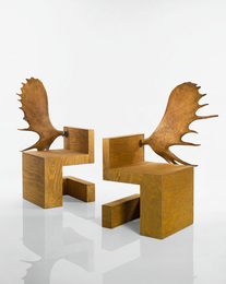 Rick Owens, 'Pair of Stag Chairs,' 2007, Sotheby's: Important Design