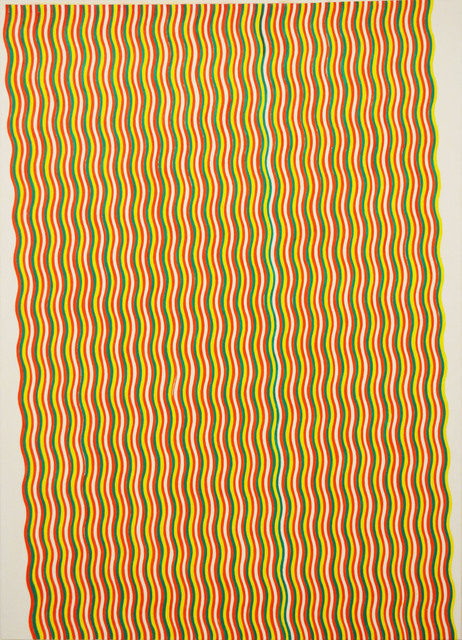 , 'Stripe Painting-Crab,' 2017, Aki Gallery