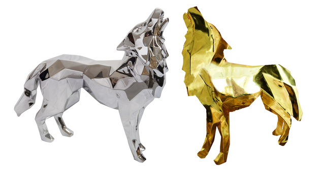 , 'Aluminium Howling Wolf,' 2018, Inception Gallery