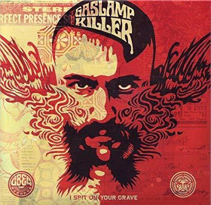 Shepard Fairey, 'Gas Lamp Killer CD', 2018, Other, CD, Samhart Gallery