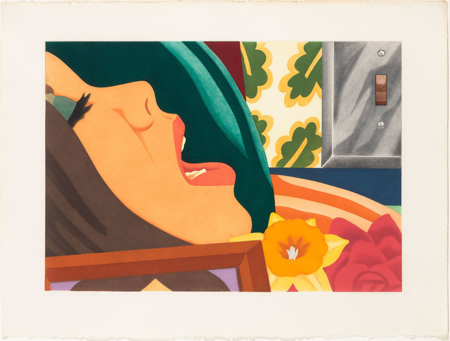 Tom Wesselmann, 'BEDROOM FACE', 1977, Print, Color aquatint on Arches paper, Doyle
