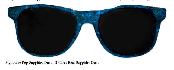 Stacy Engman, 'Signature Pop Sapphire Dust – 3 Carat Real Sapphire Dust', 2019, Mixed Media, 3 Carat Real Sapphire Dust, ART CAPSUL