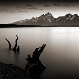 "Nightfall, Jackson Lake"" 2009"
