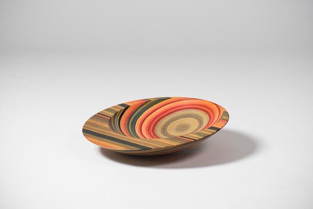 , 'Bowl - colorwood process,' 1981, Casati Gallery