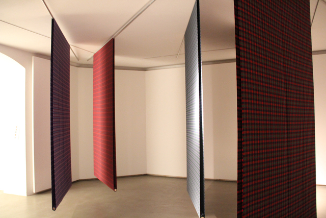 , 'The Warp and the Weft,' 2012, Mario Mauroner Contemporary Art Salzburg-Vienna