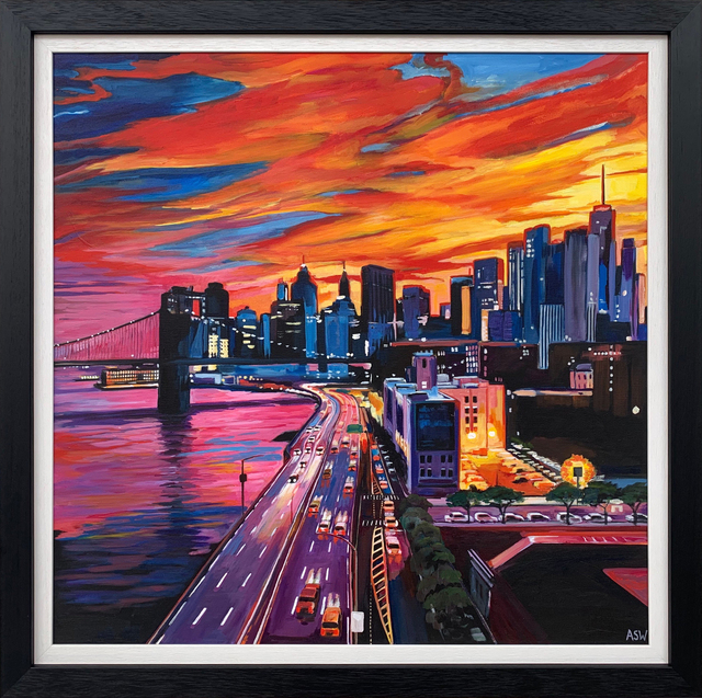 Angela Wakefield Brooklyn Bridge New York City 2019 Available For Sale Artsy