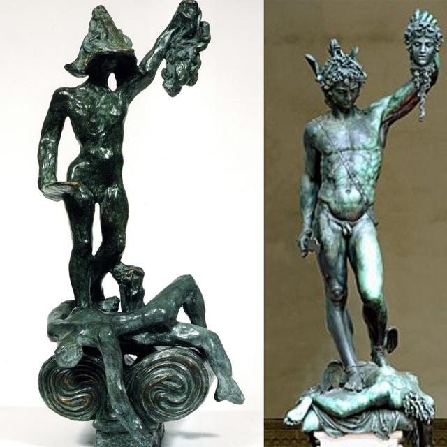 Salvador Dali Perseus With Head Of Medusa Homage To