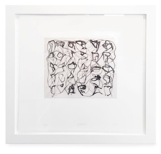 , '#8,' 2012, Leslie Feely