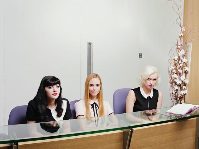 , 'Reception Reaction,' 2016, Wren London