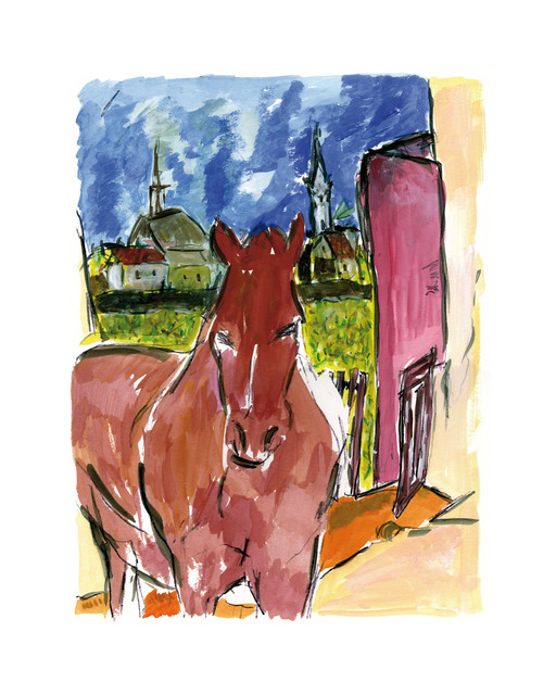 Bob Dylan, 'Horse - 2010', 2010, Castle Fine Art