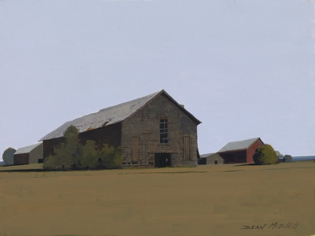 , 'Barn Row,' 2017, Mac-Gryder Gallery