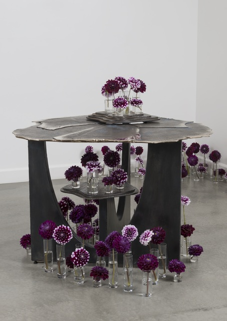, 'Oshibana center table,' 2016, Eric Buterbaugh Gallery