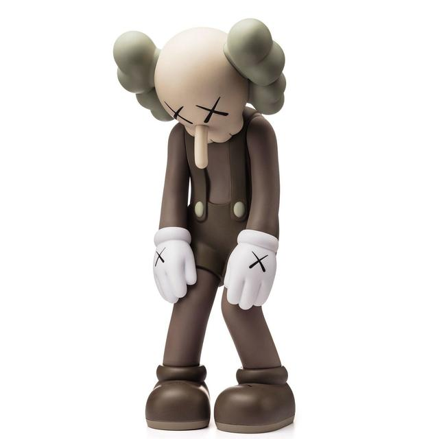 KAWS, 'Small Lie (Brown)', 2017, RAW Editions Gallery Auction