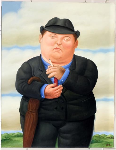 , 'Smoking Man (Hombre Fumando),' 2001, Opera Gallery