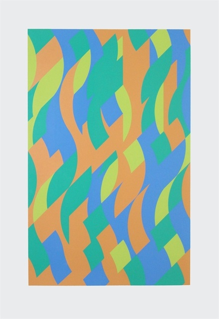 Bridget Riley, 'Sylvan', 2000, Print, Screenprint, Lougher Contemporary Gallery Auction