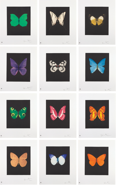 Damien Hirst, 'Butterfly Etchings', 2009, Phillips