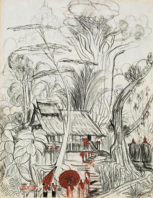 , 'Luang Prabang,' 1948-1958, Galerie Dumonteil
