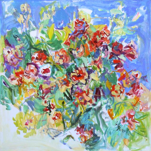 , 'Red Flowers,' , Spalding Nix Fine Art