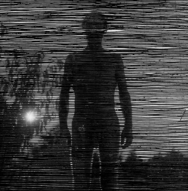 """, '""""Autorretrato escondido en mi miedo""""  ,' 2009, Galería Juana de Aizpuru"""