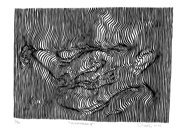 , 'Seismogram V,' 2014, V1 Gallery