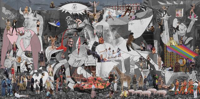 , 'Guernica,' 2013, Cynthia Corbett Gallery