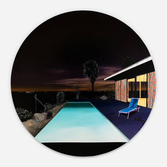 , 'infinity Pool (Night Scene),' 2017, Rebecca Hossack Art Gallery