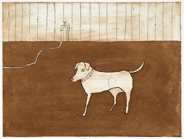 , 'Dog 3 Legs,' 2014, Cicada Press