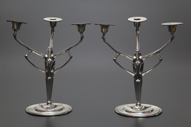 , 'Pair of Candelabras designed for Urania Co.,' 1904, Jason Jacques Gallery