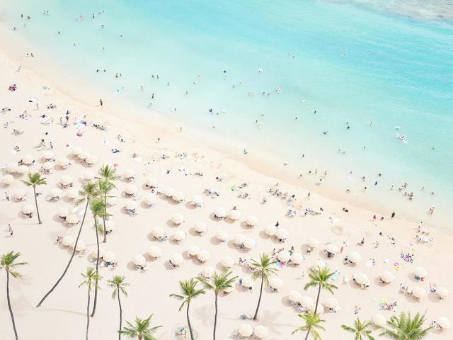 Jin-Woo Prensena, 'Waikiki Beach II', 2019, Photography, Archival Pigment Print, Miller Gallery
