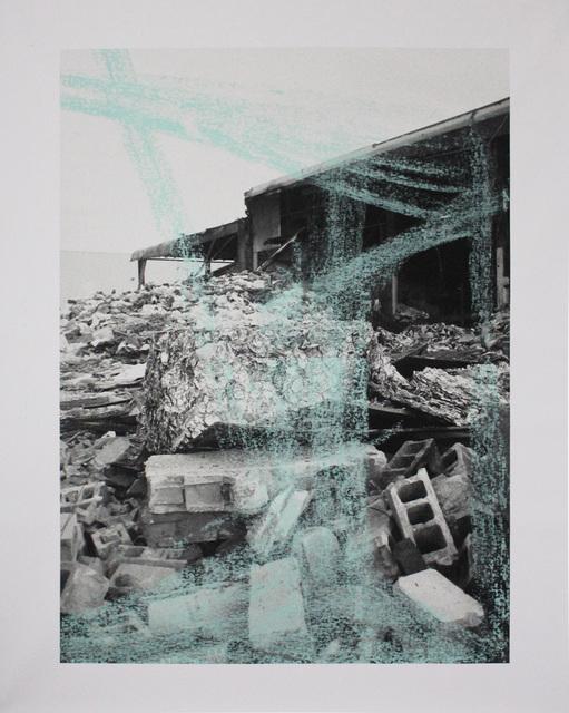 , 'Photo-Print (Metropolitan Avenue, Brooklyn),' 2016, Galerie Les filles du calvaire