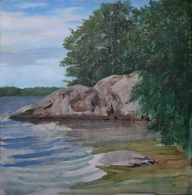 , 'Île 2, Suède,' 2017, Galerie Pixi - Marie Victoire Poliakoff