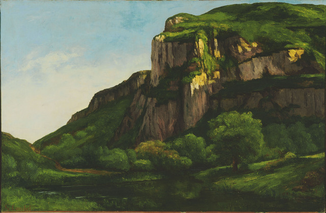 Gustave Courbet, 'Rocks at Mouthier', ca. 1855, Phillips Collection