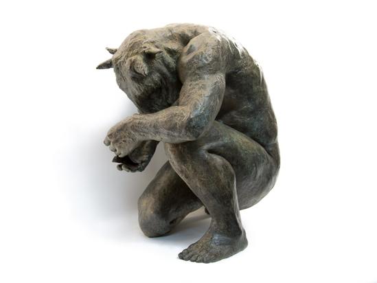 , 'Crouching Minotaur,' , LKFF