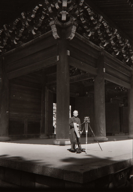 Paul Caponigro, 'Photographer at Chion-In Buddhist Temple, Kyoto, Japan', 1976, Pucker Gallery
