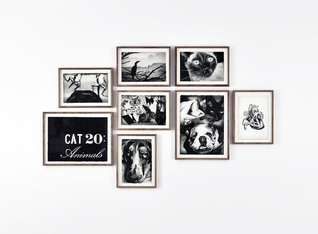 Marcel van Eeden, '(CAT 20 : Animals)', 2014, In Situ - Fabienne Leclerc