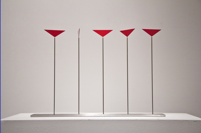 , 'Five Triangles on Rods,' 2015, Taylor | Graham