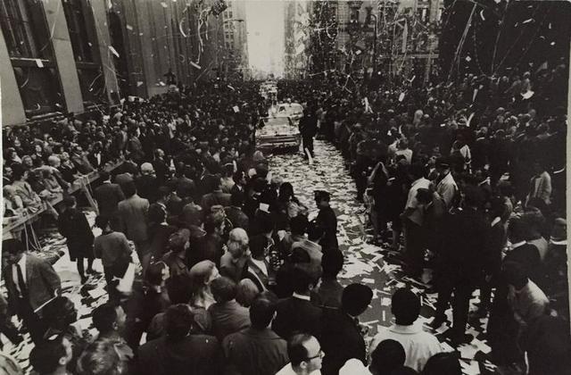 Fred W. McDarrah, 'Lower Manhattan Parade - Mets Championship '69', 1969, Lions Gallery