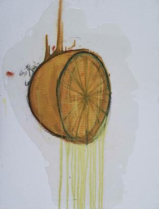 , 'Orange,' 2014, Galerie Nathalie Obadia
