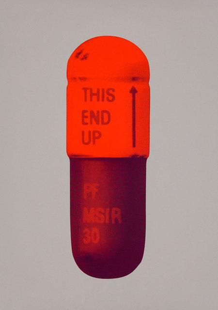 , 'Framed The Cure - Battleship Grey/Fizzy Orange/Berry,' 2014, Lawrence Alkin Gallery