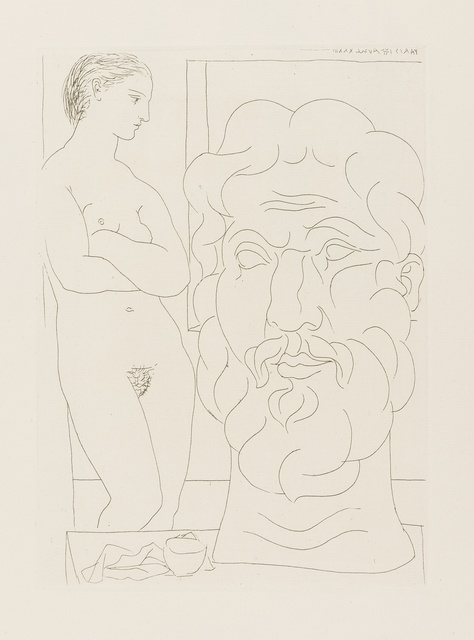 Pablo Picasso, 'Modèle et Grande Tête Sculptée', 1933, Forum Auctions
