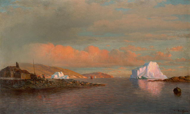 , 'Arctic Sunset,' 1873, Questroyal Fine Art